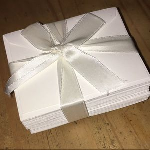 Tiffany & Co. card and envelopes